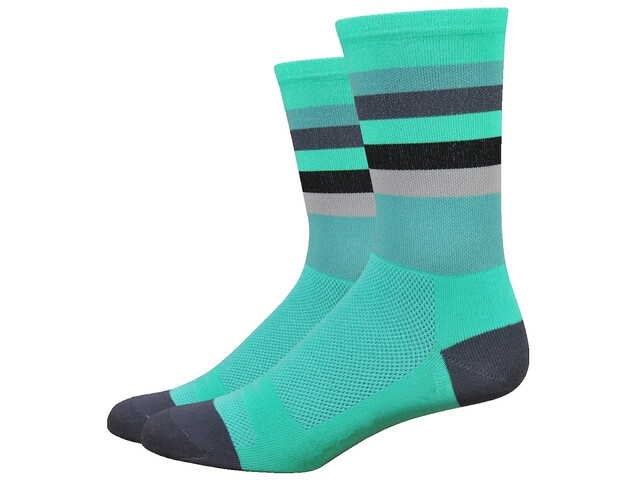 "DeFeet Aireator 6"" Socks maverick (celeste/graphite)"